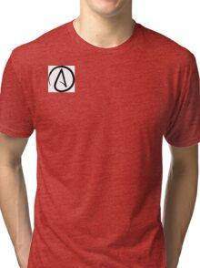 Atheism Tri-blend T-Shirt