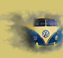 A Camper Van of Cloudy Stuff Emerges by astralsid