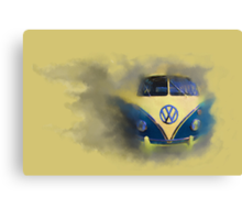 A Camper Van of Cloudy Stuff Emerges Canvas Print