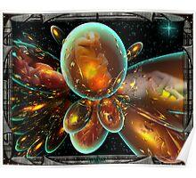 Matrix Digital Art Poster
