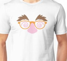 Cute April fools funny face disguise Unisex T-Shirt