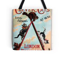 Clever Cats Tote Bag