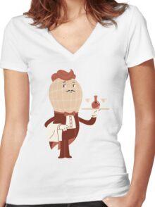 Peanut Butler Women's Fitted V-Neck T-Shirt