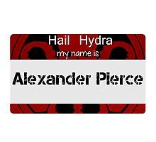 Hail Hydra tag Photographic Print