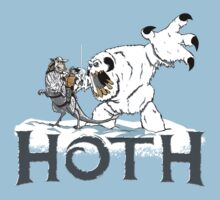 The Frozen Planet of Hoth Kids Clothes