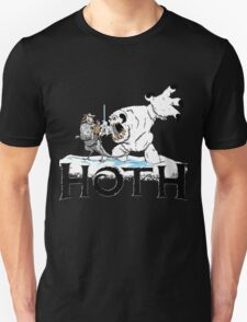 The Frozen Planet of Hoth Unisex T-Shirt