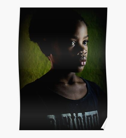 Young girl Poster