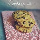 Home is where the cookies are Food typography by Indea Vanmerllin