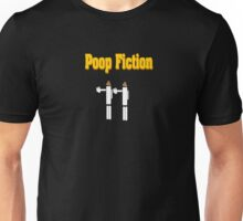 Poop Fiction t-shirt (Pulp Fiction spoof shirt) Unisex T-Shirt