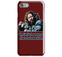 Big Lebowski Philosophy 10 iPhone Case/Skin
