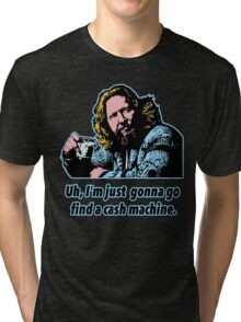 Big Lebowski Philosophy 10 Tri-blend T-Shirt