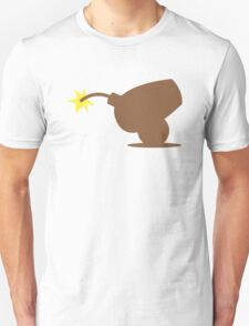 Brown canon about to explode  T-Shirt