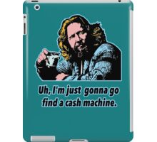 Big Lebowski Philosophy 10 iPad Case/Skin