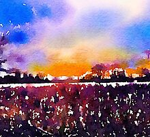 Under Lancashire skies - pop edit by © Sandra Lock