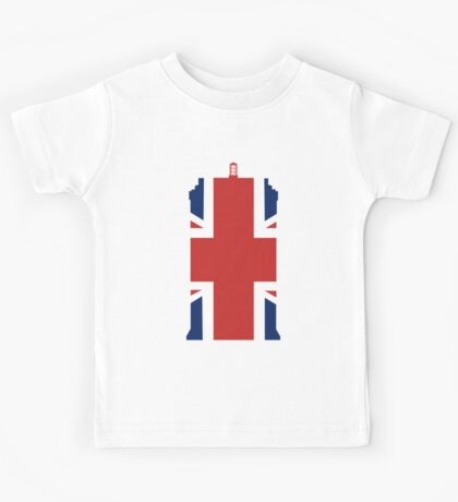 Great British Time Box Kids Tee