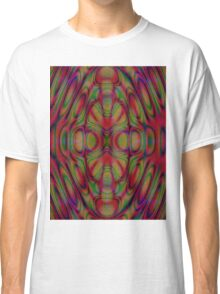 Box Elder Manitoba Maple Fractile Classic T-Shirt