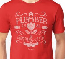 Plumber Jumping Club Unisex T-Shirt