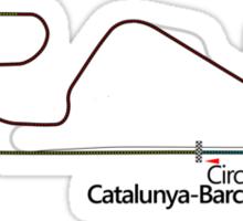 Circuit de Catalunya-Barcelona, Spain Sticker