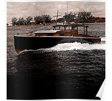 The Pilar Boat Poster