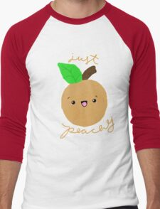 Just Peachy Men's Baseball ¾ T-Shirt