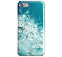 Dandy Starburst in Blue iPhone Case/Skin