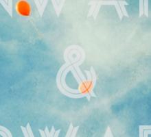 Onward & Upward Sticker