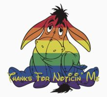 Rainbow Eeyore Sticker by instinCKt