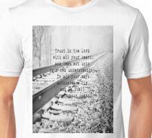 Proverbs 3:5-6 Unisex T-Shirt