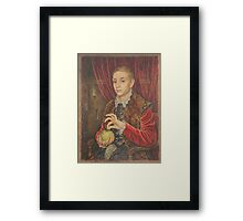 The Grand Budapest presents Boy With Apple Framed Print