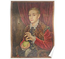 The Grand Budapest presents Boy With Apple Poster