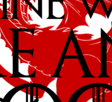 Game of Thrones - Fire and Blood Sticker