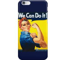 we can do it iPhone Case/Skin