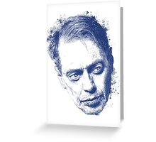 Steve Buscemi Rocks Greeting Card