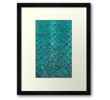 Mermaid Scales Framed Print