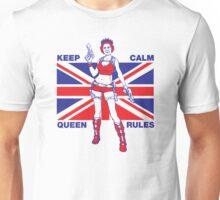 Keep calm Queen rules Unisex T-Shirt