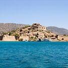 The Old Venetian Fort, Spinalonga Island, Crete by Kawka