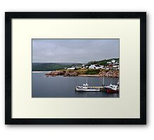 Harbour off the Cabot Trail Framed Print