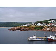 Harbour off the Cabot Trail Photographic Print