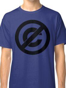 Public Domain Symbol, Copyleft Classic T-Shirt