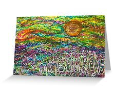 High Summer Haze - Waiting for the Breeze Greeting Card