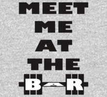 Meet Me At The Bar - Workout Inspiration One Piece - Long Sleeve