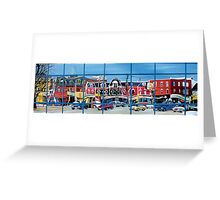 Queen St. (Toronto) Reflection Greeting Card