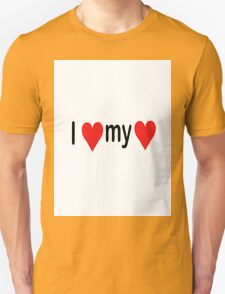 I love my love Unisex T-Shirt