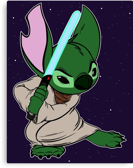 Yoda Stitch by Macaluso