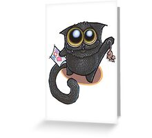 I love you, Momma-cat! Greeting Card
