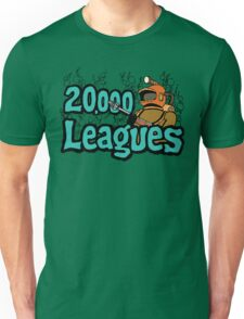 20,000 Leagues Under The Sea Unisex T-Shirt