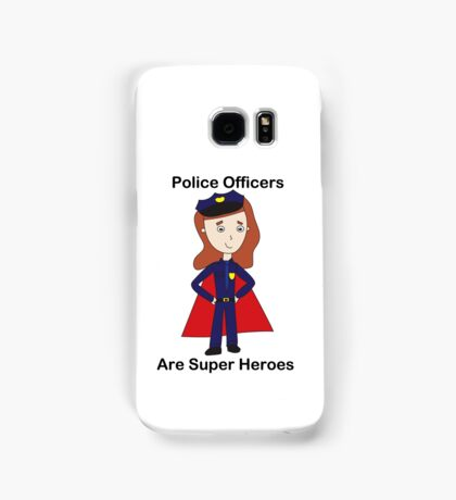 Police Officers Super Heroes (Female) Samsung Galaxy Case/Skin