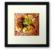 Lunch Is Served Framed Print