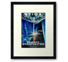 Enemy Starfighter Framed Print