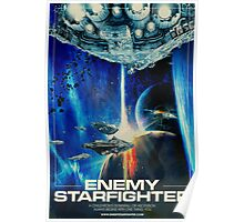 Enemy Starfighter Poster